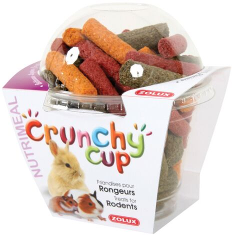 Crunchy cup betteraves - luzerne et carottes 180gr