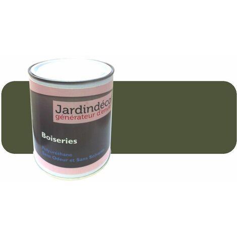 Peinture Vert Olive Pour Meuble En Bois Brut 1 Litre Vert Olive Vert Olive Peinture Ral6003