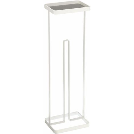 Support papier toilette Stand - Blanc