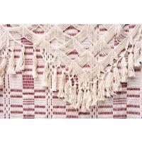 Hamac artisanal en coton Rio bordeaux
