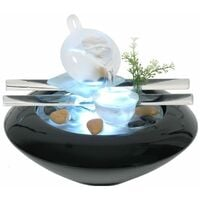 Indoor light up fountains and air purifiers