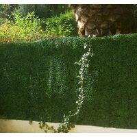 Plaques clipsables de feuillage artificiel 3m² (Lot de 12) Buis - Vert