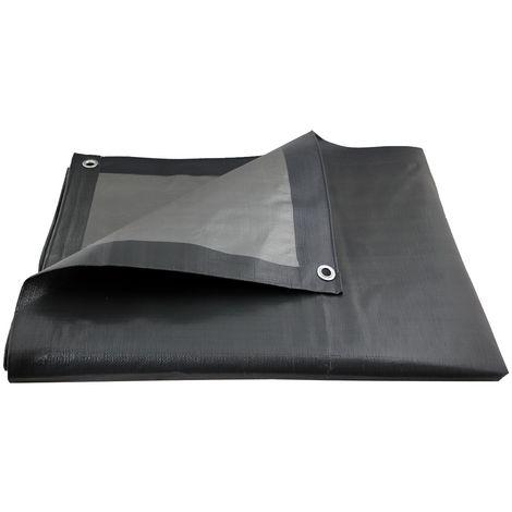 Bâche de protection ultra résistante - 200 g/m² - 5 x 8 mètres