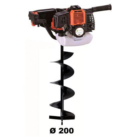 Tarière thermique 52 cm3 - 3 CV + mèche 200 mm