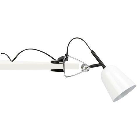 Lampe pince design Faro Studio Blanc Métal 51135