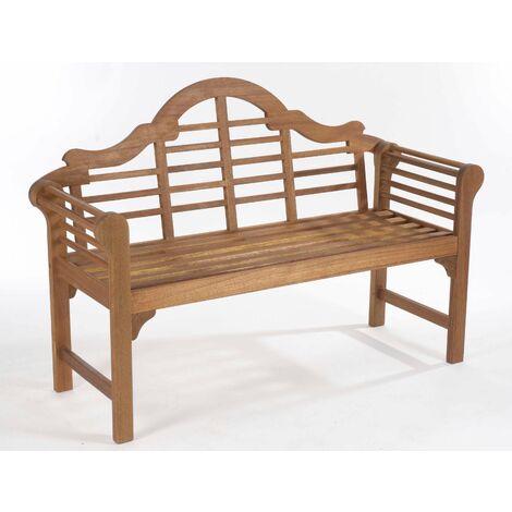 Lutyens Style Bench, Natural