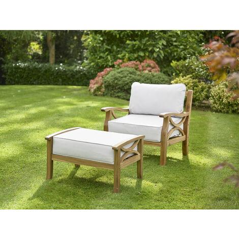 Sorrento Armchair Set Natural