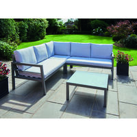 Oakley Aluminium Corner Sofa Set