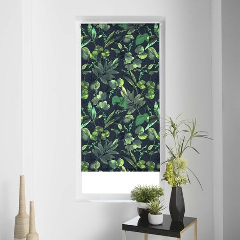 store enrouleur tamisant imp. 45 x 180 cm polyester forrest