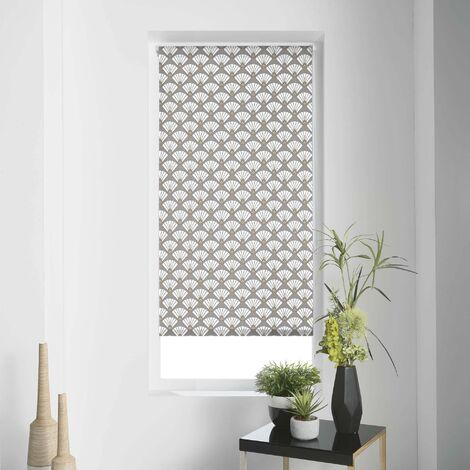 store enrouleur tamisant imp. 45 x 180 cm polyester art deco chic