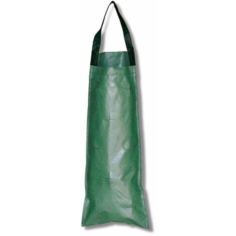 Pflanzbeutel Kaskade lang, grün, mit 8 Löchern, ca. 53x23 cm