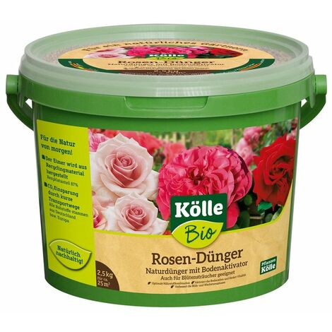 Kölle Bio Rosendünger, 2,5 kg Eimer