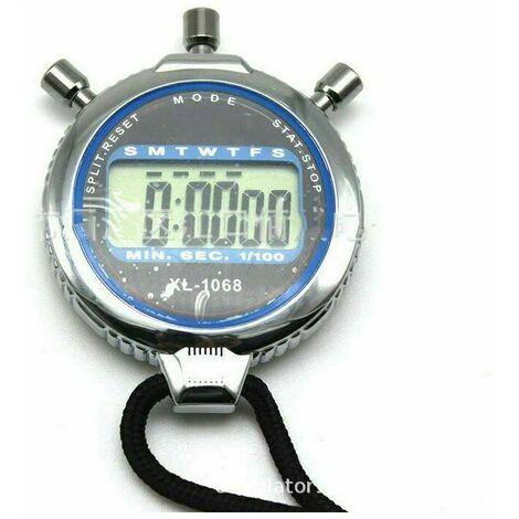 Chronomètre Numérique, Imperméable 1/100 Seconde Précision Minuterie