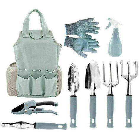 Kit d'outils de jardinage 9 pièces