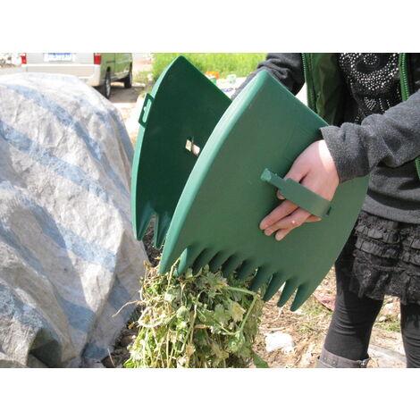 Ramasse-feuilles, ramasseur de feuilles, outils de ramassage de feuilles pour ramasser les feuilles, herbe, boutures de gazon, ramassage de corbeilles