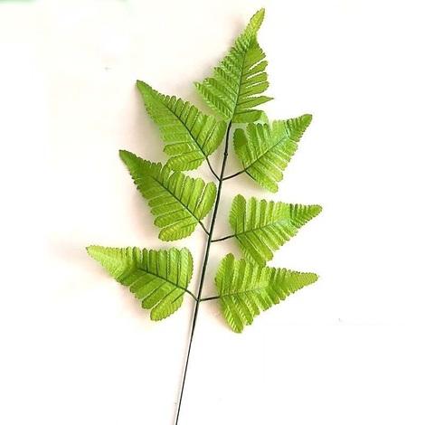 Plantes artificielles plantes de fougère artificielle, plastique vert Faux plantes arbustes à feuilles persistantes pour balcon produits de décoration intérieure et extérieure Accueil, 20pcs,style 1