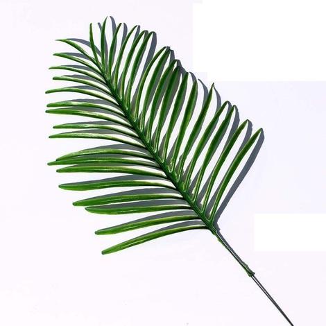 Plantes artificielles plantes de fougère artificielle, plastique vert Faux plantes arbustes à feuilles persistantes pour balcon produits de décoration intérieure et extérieure Accueil, 20pcs,style 3