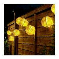 Lanterne de guirlandes solaires à LED, étanche, utilisée pour le patio intérieur et extérieur, fête de Noël