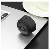 Mini caméra, caméra de surveillance HD 1080P intérieur / extérieur maison petite nounou cam appartaut magnétique avec vision nocturne de mesure de mouvement