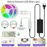 Bande LED RGB Smart Kit Bande LED Wifi contrôlable 20M