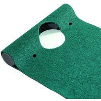Tapis de Putting de Golf 31 * 183cm, Professionnel Tapis d'entraînement de Golf à Domicile, Tapis de Practice Golf pour Cour Intérieure Extérieure