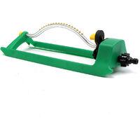 Arroseur Asperseur Oscillant ,Moteur Turbo pour Arrosage Pelouse et Surfaces carrées
