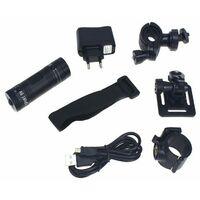 Caméra Sport, Caméra Moto, Caméra Vélo, HD 1080P Mini Caméra Cachée 120° Grand Angle Action avec Enregistrement en Boucle