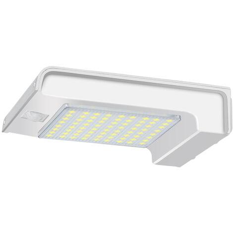 72 PCS LED Luces solares con sensor de movimiento PIR para exteriores Luz solar de pared Impermeable Seguridad exterior para patio Jardín Pasillo Escaleras Mohoo