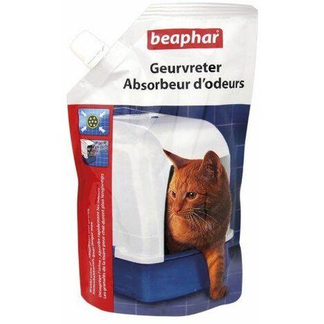 Beaphar Absorbeur d\'odeurs Granulés pour la Fraîcheur de La Litière pour chat 400 g