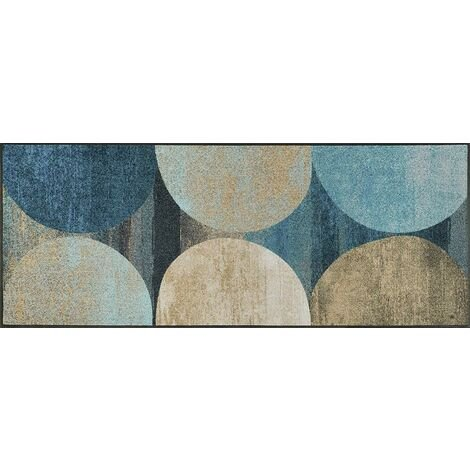 Wash+Dry Tapis, Surface en Polyamide, Blue, 75 x 190 cm