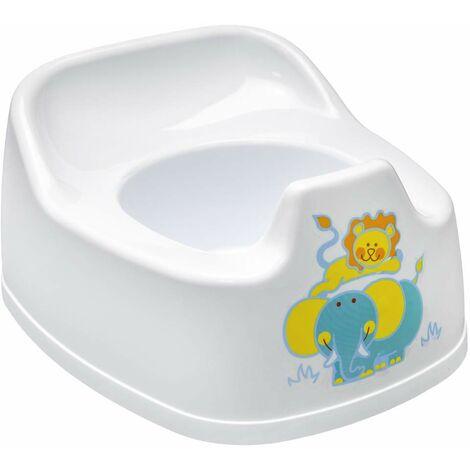 ORYX 5071140 Petit Pot en Plastique pour Enfant Blanc