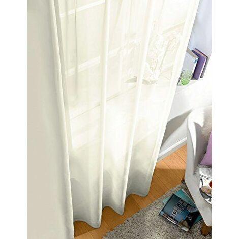 Splendid dIANA rideau à galon fronceur blanc 300 x 280 cm