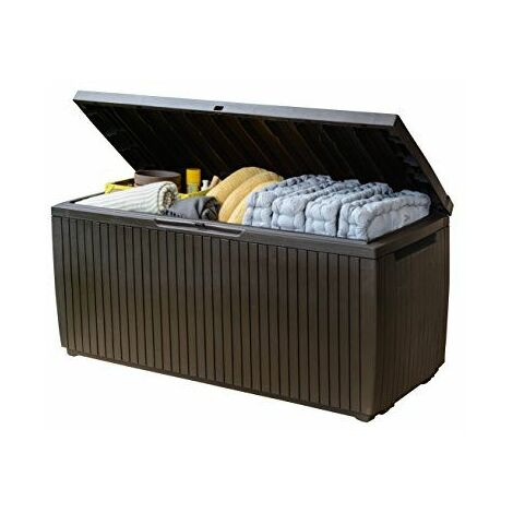 Keter de supports de et Wood universel style boîte, springw Ood, 305L, marron