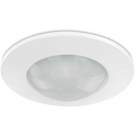 Sonero IMS070 Détecteur de Mouvement au Plafond - Installation à l\'Intérieur pour l\'Installation au Plafond, Classe de Protection: IP20, Surface de Travail de 360 ??° / 6M, Blanc (Jeu de 4)
