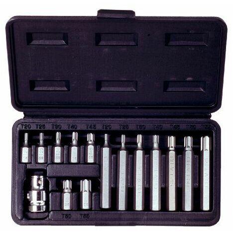 KS Tools 911.5020 Coffret d\'embouts Torx 15 pièces T20/25/30/40/45/50/55
