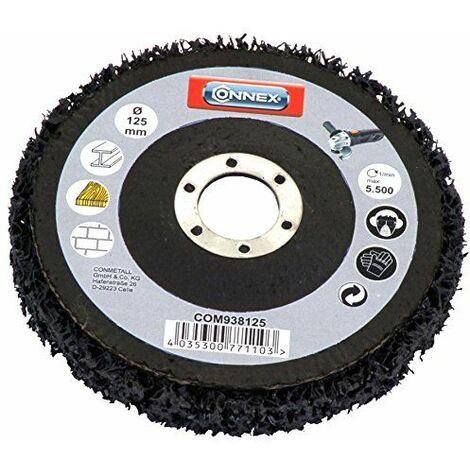 Connex COM938125 Disque de nettoyage pour meuleuse d\'angle 125 mm