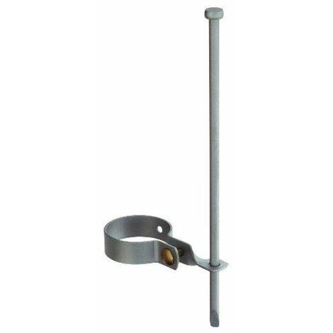 GAH-Alberts Fixation au sol pour balançoire, galvanisé Jaune 400 mm / Ø80 mm