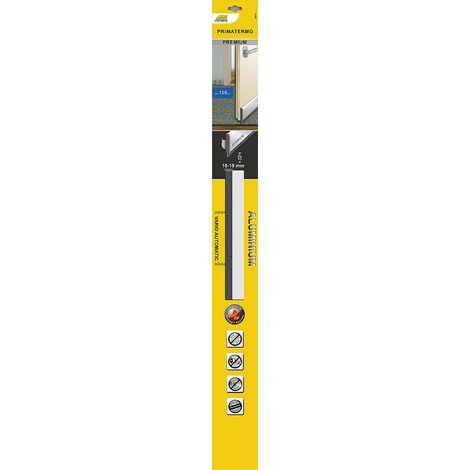 Schellenberg 66316 Premium Primatermo Joint de seuil de porte avec ressort automatique en Alu 100 cm