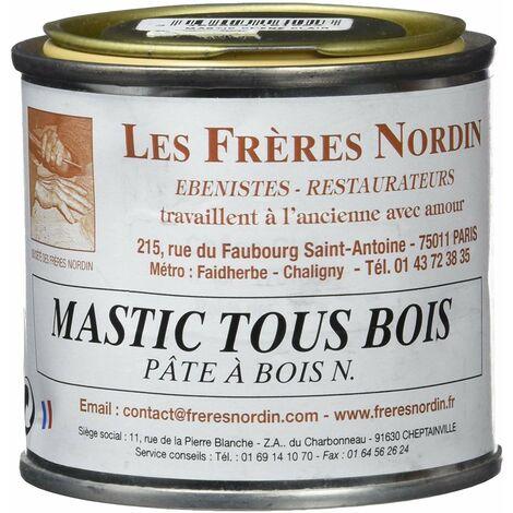 Les Frères Nordin 416102 Mastic à Bois Pro Chêne Clair