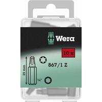 Wera 05072411001 Coffret d\'embouts Torx 867/1 Z TX 30 (Import Allemagne)