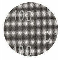 KWB Disque de ponçage Pour ponceuse excentrique Diamètre 125mm, grain 120pour plâtre et, 1pièce, placoplâtre 491312