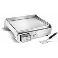 Lagrange 219004 Plancha Pro Blanche , 2300W