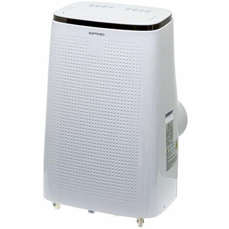 Climatiseur mobile 4100W (14000BTU)  ultra puissant spécial grandes pièces jusqu'à 40m² OPC-A01-140 OPTIMEO (Marque française)