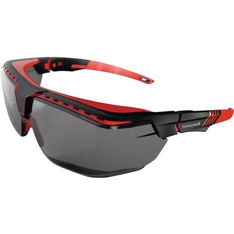 HONEYWELL 1035812 Schutzbrille Avatar OTG Kategorie 2 Bügel schwarz/rot, Scheibe
