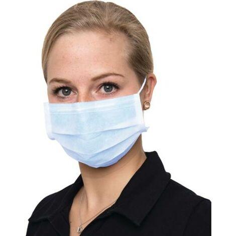 NITRAS MEDICAL 4305ES Mundschutz 4305 3-lagig blau