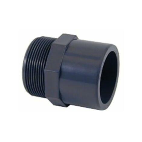 "1/"" bsp fileté capuchon PVC1 pvc nylon /& polypro raccords"