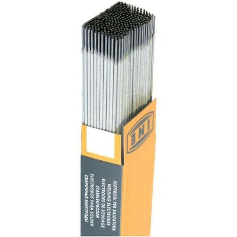 INE Lot de 175 electrodes rutiles acier O 3,2 mm L 350 mm - Baguettes de soudure
