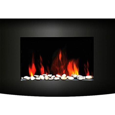 CARRERA Luna 2000 watts Cheminee electrique decorative et chauffage dappoint