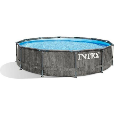 Kit piscine - INTEX TUBULAIRE BALTIK - o3,66 x h0,99 m