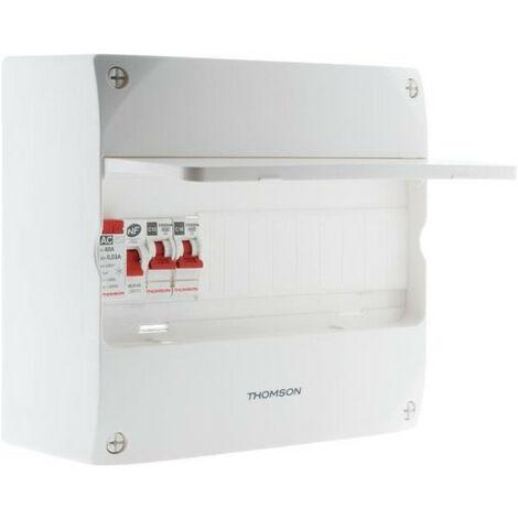 THOMSON Coffret electrique pre-equipe 1 rangee - 13 modules
